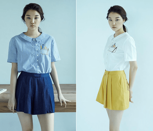 Photo of 소녀와 여자 사이, 마소영의 '프레피 & 마린룩'