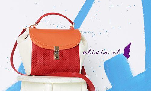 Photo of 올리비아 엘, 산뜻한 '컬러테라피' 핸드백 제안