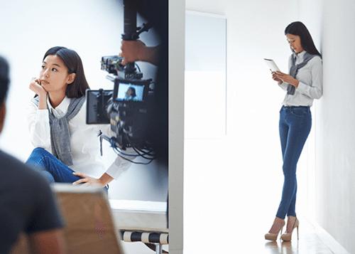 Photo of 전지현 무보정, 유니클로 B컷서 '8등신 몸매' 과시