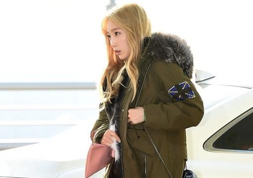 Photo of [FS공항패션] 소녀시대 태연, 야상 점퍼 입은 '겨울 요정' 강림