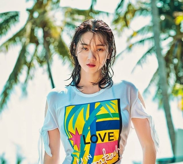 Photo of [FS화보] 장윤주, 섹시 리조트룩 '독보적 몸매'