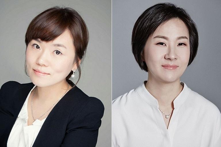 박이라 세정 부사장(좌), 최혜원 형지I&C 대표(우)