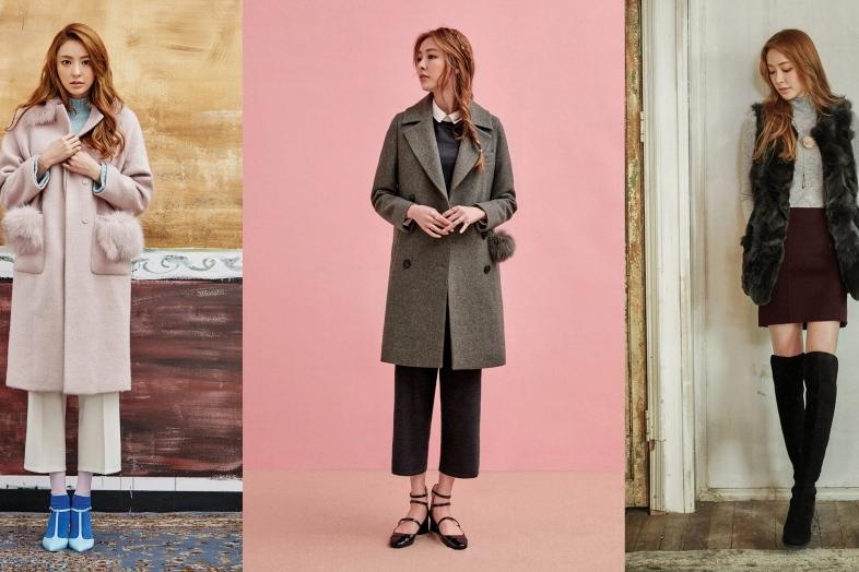 Photo of [style talk] 이다희가 제안하는 '퍼'를 활용한 3色 코트 패션