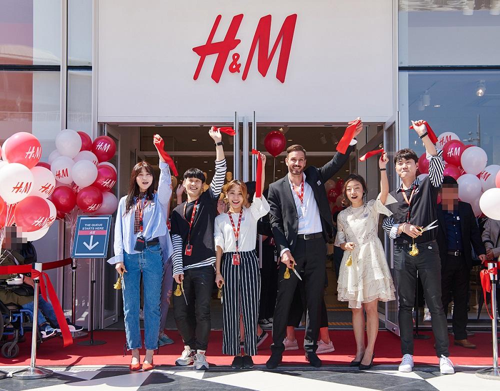 Photo of H&M, 올해 첫 매장으로 '송도' 선택