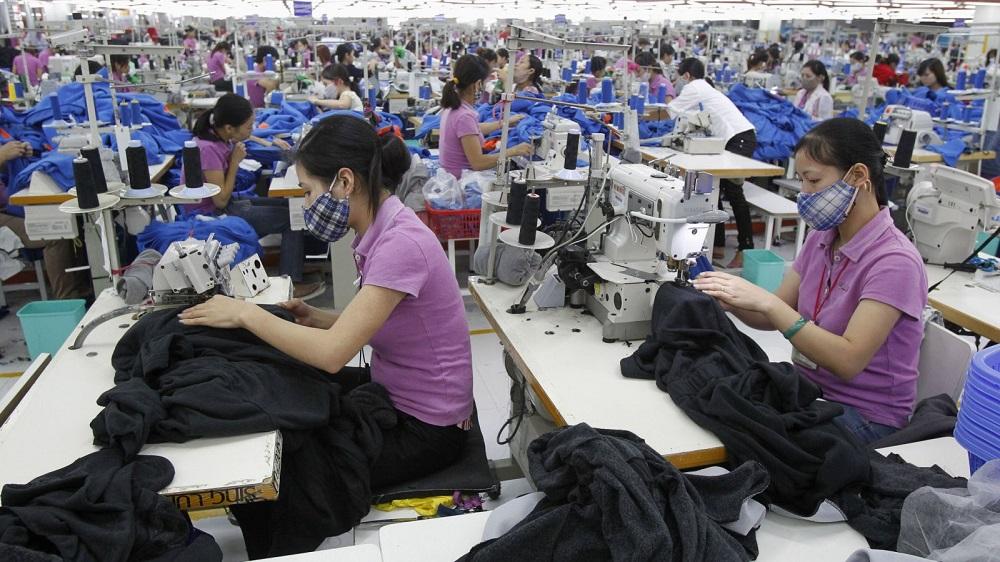 중국 의류산업