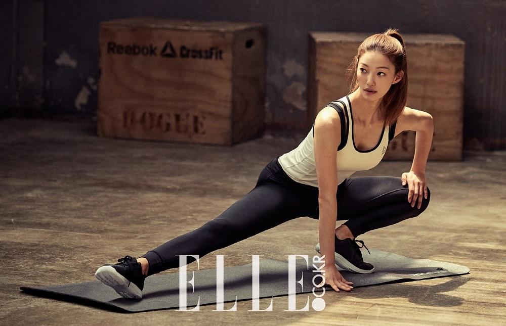 Photo of 배우 이엘, 운동으로 다져진 몸매