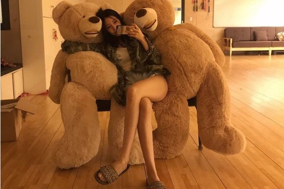 Photo of [stargram] 티아라 효민, 다이어트 유발 각선미
