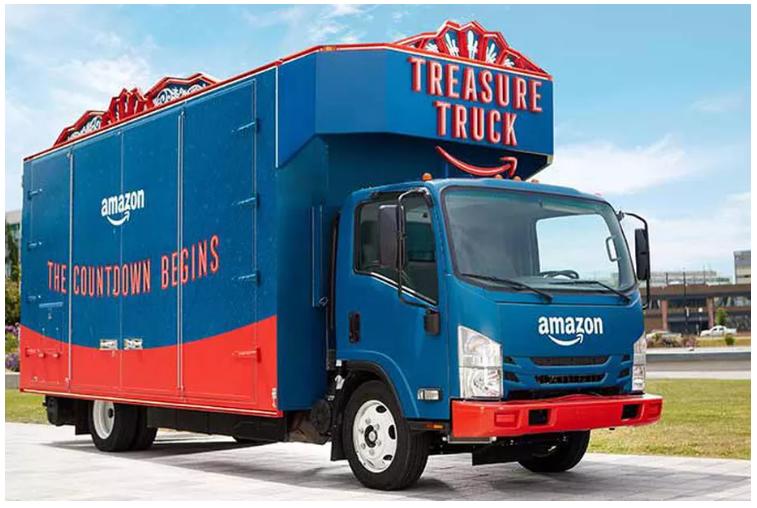 아마존 보물트럭