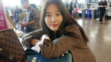 Photo of [photo] '윰블리' 정유미, 공항패션도 사랑스러워