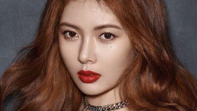 Photo of 현아, 매혹적인 눈빛과 가을 컬러를 담은 입술