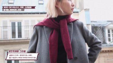 Photo of [tv style] '슈스스' 한혜연X문규 In PARIS
