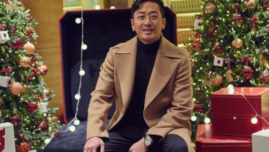 Photo of 까르띠에 크리스마스 파티에서 만난 하정우와 신민아