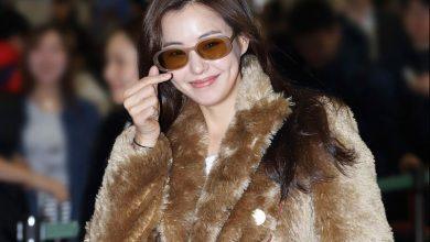 Photo of 배우 이하늬의 세련된 복고 패션