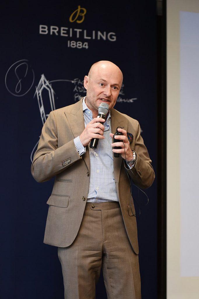 브라이틀링 CEO 조지 컨 회장