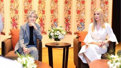 Photo of 이방카 트럼프, 한국 디자이너 브랜드 '고엔제이' 착용 화제