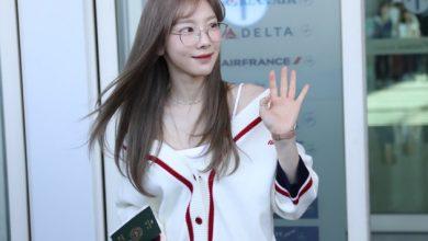 Photo of 소녀시대 태연, 가을을 부르는 공항패션