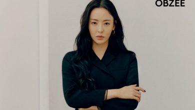 Photo of 오브제, 뮤즈 배우 이다희 화보 공개