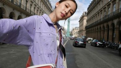Photo of 모델 아이린의 파리 사로잡은 컬러풀한 스트릿 패션