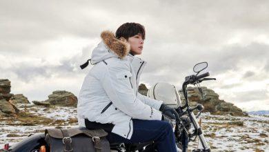 Photo of 박보검, 항공 점퍼형 구스 다운 자켓 눈길