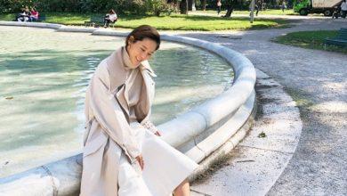 Photo of 밀라노에서 만난 김나영의 가을 패션