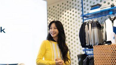 Photo of 각선미를 강조한 한예슬의 골프웨어 패션