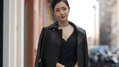 "Photo of 밀라노 패션위크 물들인 박민영의 ""고급스러운 자태"""