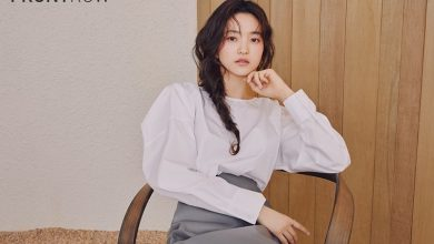 Photo of 프론트로우, 뮤즈 김태리 '클래시 코튼 컬렉션' 화보 공개