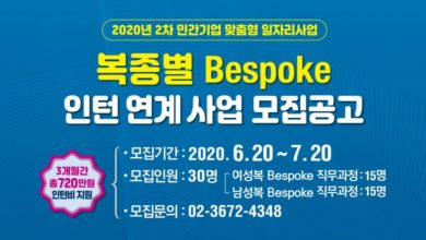 Photo of 서울시, 패션 민간기업 맞춤형 일자리 사업 공고