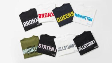 Photo of 질스튜어트뉴욕, 뉴욕시 5개 자치구를 티셔츠로
