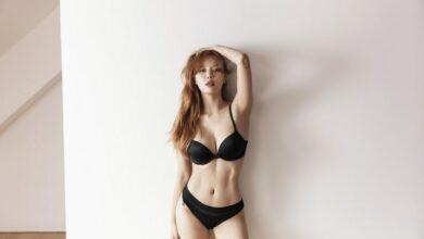 Photo of 현아 & 던 언더웨어 화보 공개