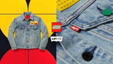 리바이스 레고 협업