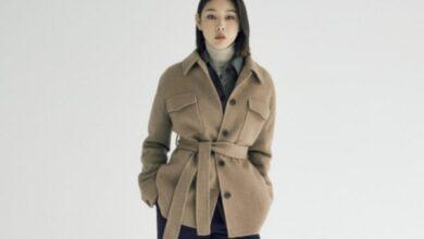 한혜진 핸드메이드 코트