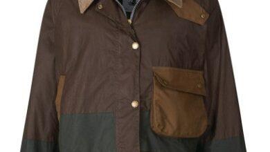 바버 알렉사 청 왁스 재킷